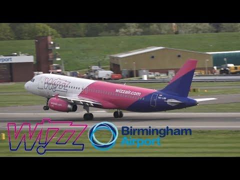 Wizz Air Flight 2217/2218 (Budapest to BHX/BHX to Budapest)