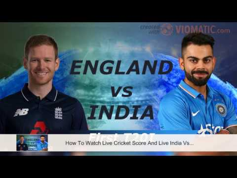 Watch Live Cricket Score And India Vs England 1st T20 Match Streaming Online For Free At Sony LIV