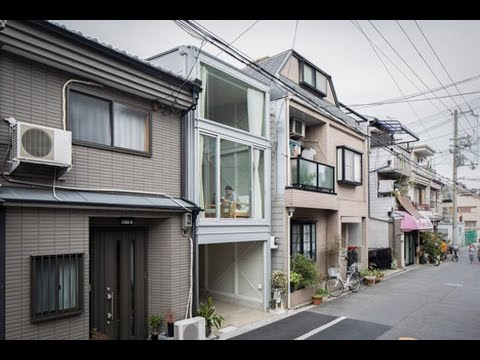 Kakko House by Yoshihiro Yamamoto is a 3.4-metre-wide home in Japan