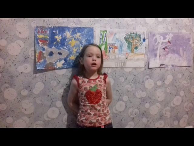 Изображение предпросмотра прочтения – АнгелинаАрхипова читает произведение «День Победы» (Игебаев Абдулхак)