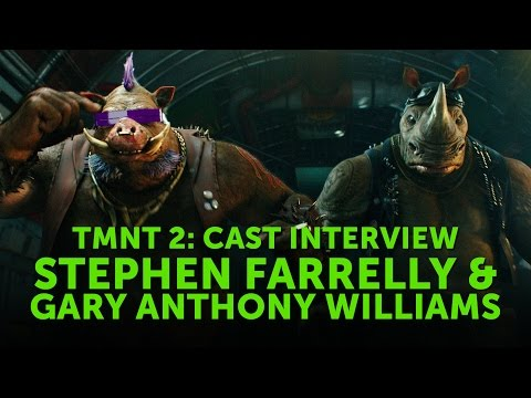 TMNT 2 - Stephen Farrelly & Gary Anthony Williams Interview