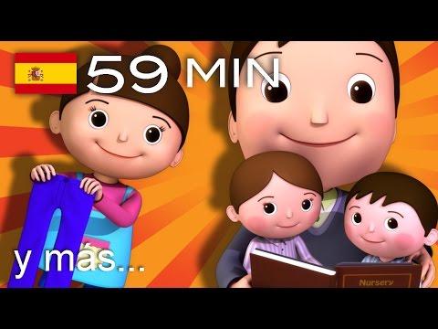 No hay monstruos | Y muchas más canciones infantiles | ¡59 min de LittleBabyBum!