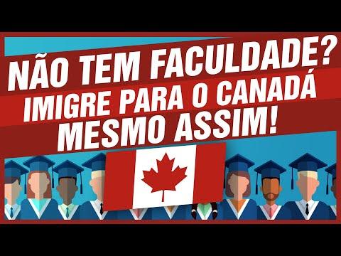 Como imigrar para o Canadá SEM FACULDADE? 🇨🇦