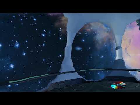 Путешествие в космическом корабле 360° 4K Short Film видео для VR