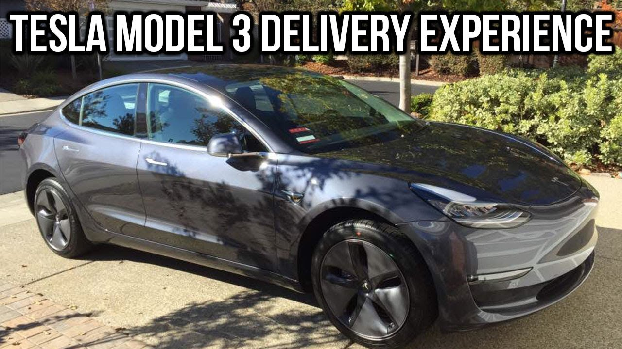 My Tesla Model 3 Delivery Experience - YouTube