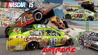 Nascar 15 Victory Edition: All Cars What Novelty in Nascar Longer Crash Compilation