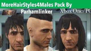 Fallout 4 Xbox One/PC Mods|MoreHairStyles4Males Pack By Parhamlinker