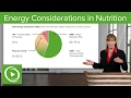 Energy Considerations in Nutrition: BMR, RMR & Physical Activity – Nutrition | Lecturio