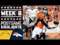 Chargers vs. Broncos | NFL Week 8 Game Highlights