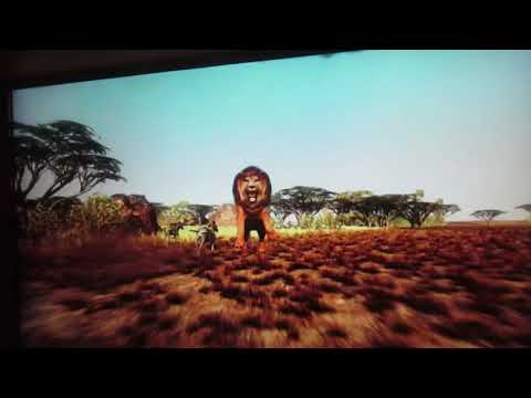 Safari Adventure Typhoon Ride Simulator Dave & Buster's Milwaukee, WI 9-27-17