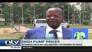 CS Munyes and Keter at risk of sanctions following Senate snub
