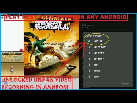 Play Best Java Games In Android And Unlocked UHD 4K Video Recording By Camera Pro App [HINDI] |2019
