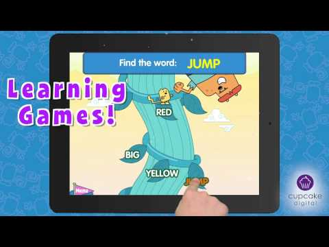 Wubbzy And The Princess Interactive Story App Trailer