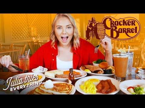 Trying 50 Of Cracker Barrel's Most Famous Menu Items