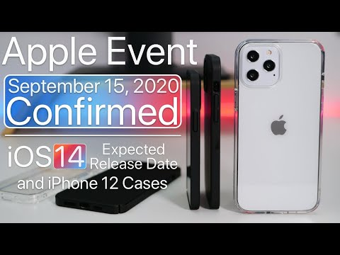 September 2020 Apple Event Confirmed What To Expect Ios 14 Release Date And More Youtube