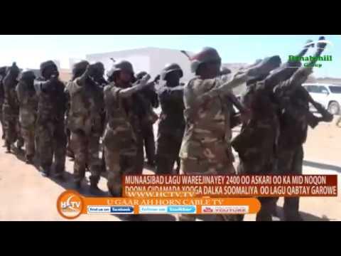 Puntland Oo Ciidan Gaadhya 2000 Ku Wareejisay Dowladda Somalia