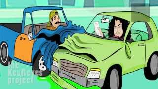 Repeat youtube video Felipe Esparza Driving with no car insurance cartoon