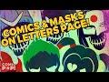 ComicPOP Letters Page: SUICIDE SQUAD MASKS & COMICS!
