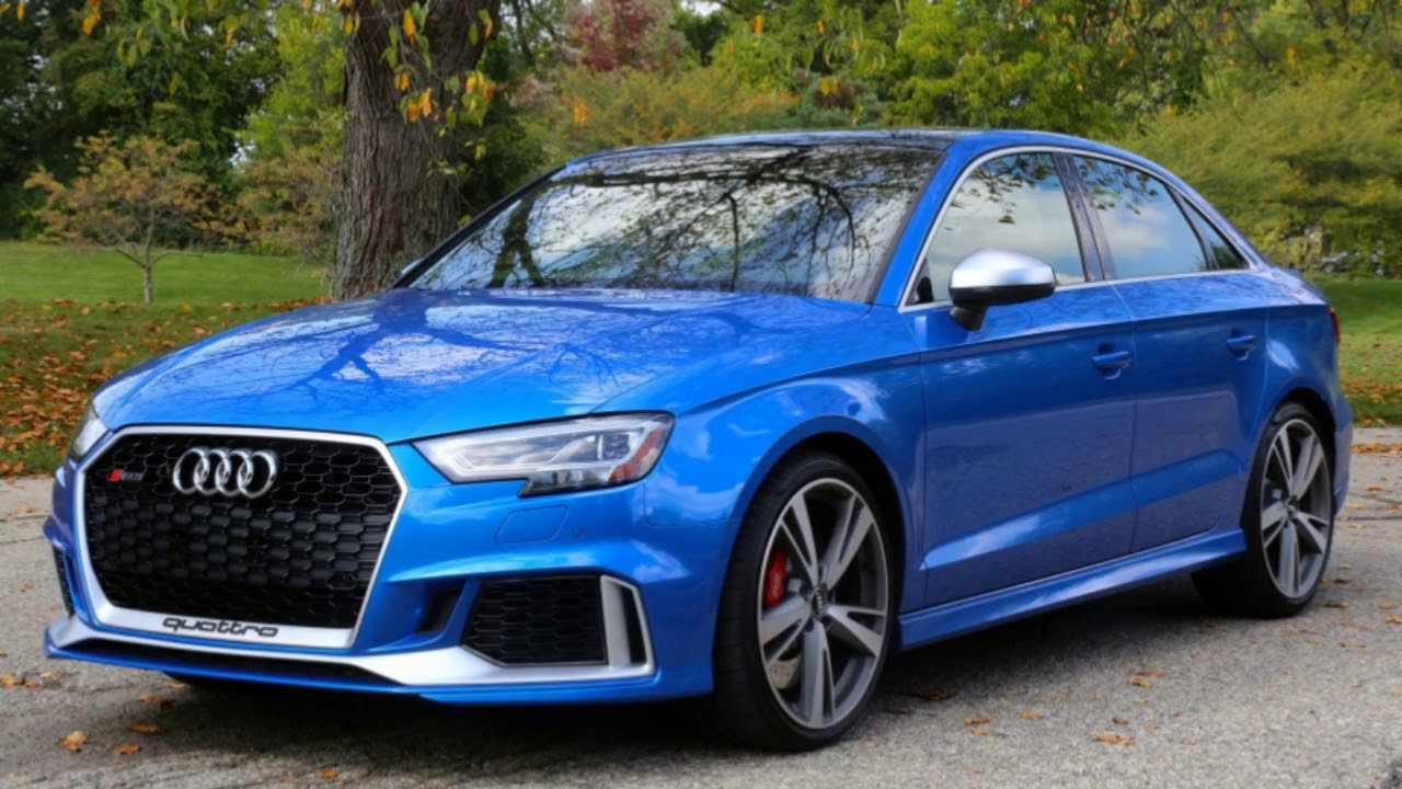 2018 Audi RS3 USA Reviews Audi RS3 Price, and Specs Car and Driver