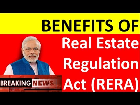 What is RERA- Real Estate Regulation Act?