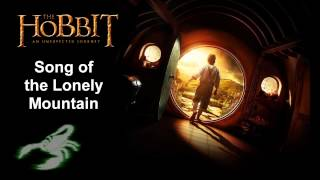 The Hobbit - Song of the Lonely Mountain (Lyrics)