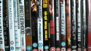 UPDATED! my world cinema/shaw brothers movies/kung fu/dvd collection UPDATED!