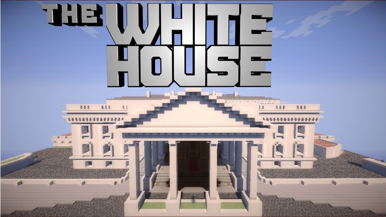 Minecraft Pocket Edition White House
