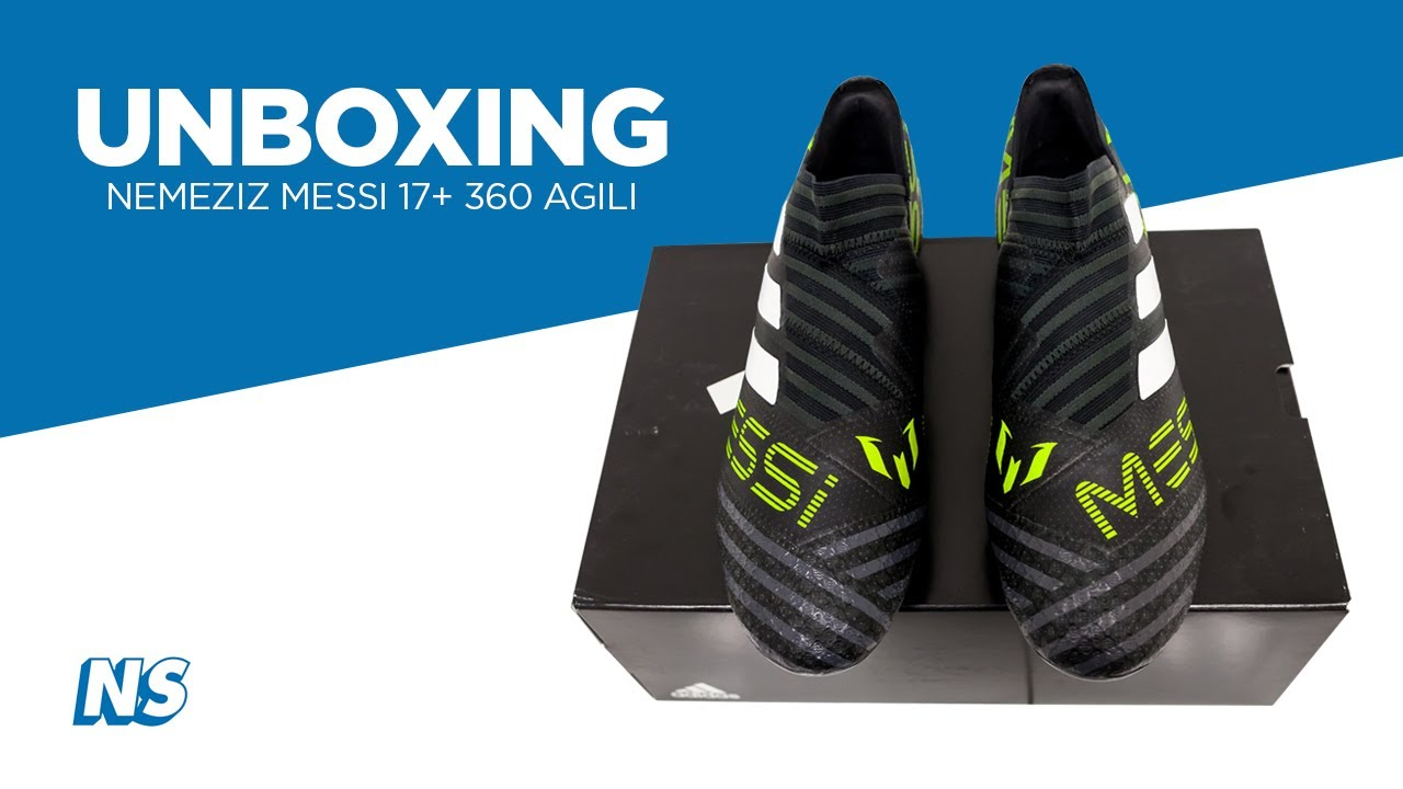 3128c4843 adidas Nemeziz Messi 17+ 360Agility Unboxing by Niky's Sports - YouTube