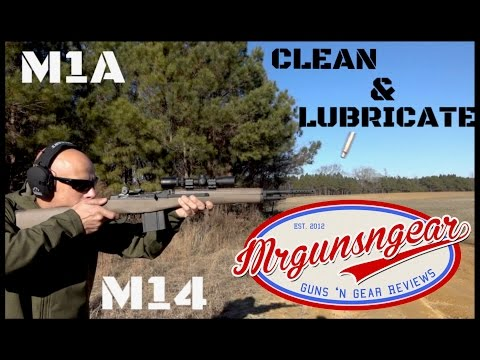 How To Clean & Lubricate A Springfield Armory M1A Or M14 Rifle (HD)