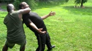 Mfundishi v Malenga play fighting