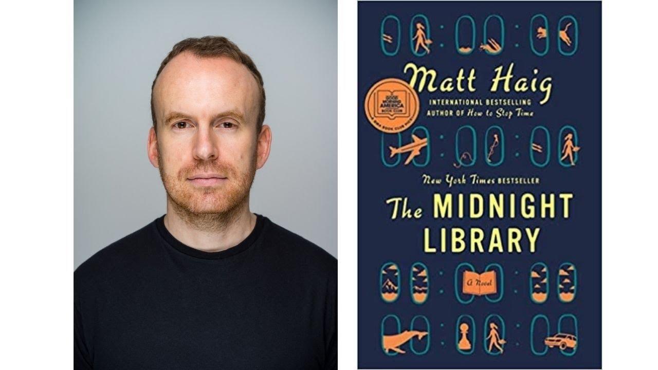 Image for Author Talk: The Midnight Library with Matt Haig webinar