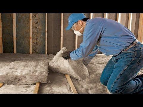 Как правильно утеплить крышу дома изнутри видео своими руками