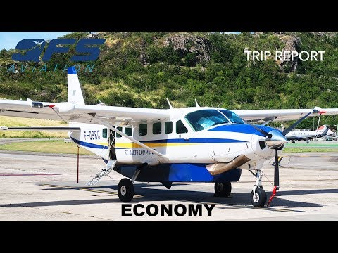 TRIP REPORT | St Barth Commuter - Cessna 208B - St. Barths (SBH) to St. Maarten (SXM) | Economy