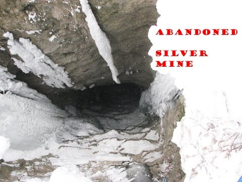 Abandoned Silver Mine Winter Exploration in Northwestern Ontario Canada!