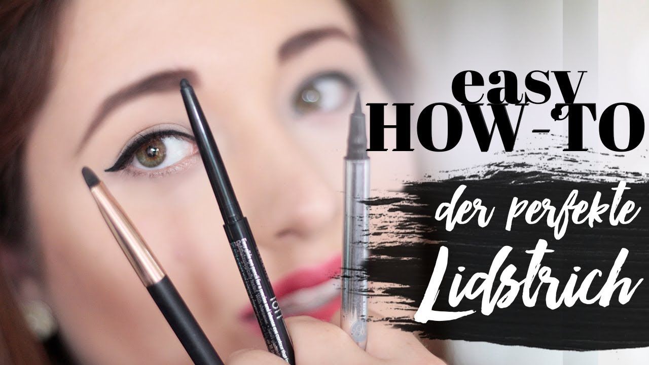 Make Up Monday How To Lidstrich Ziehen Fur Anfanger Anleitung 3