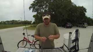 How To Catch Flounder From A Bridge.    (fishing Fernandina Beach Florida)