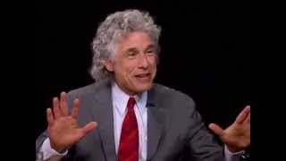 """Steven Pinker & Charlie Rose - """"The Better Angels of Our Nature"""""""