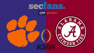 Alabama vs Clemson - CFP Championship Preview - College Football 2017