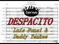 Despacito Charanga - Partitura Arreglos musicales Serna