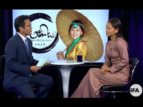 Deputy Director Kalden Lodoe interviews Tibetan Artist Tenzin Kunsel