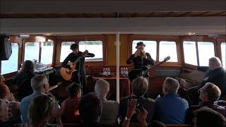 Elliott Murphy with Olivier Durand at the steamboat S/S Blidösund, Full concert, 20170719