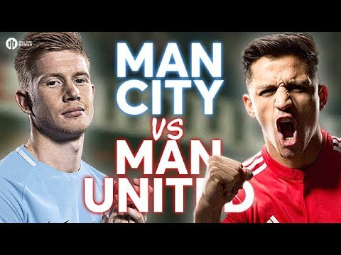 Manchester City vs Manchester United LIVE PREVIEW!
