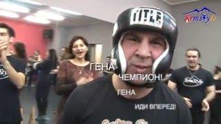 драка бокс на армянских танцах в спб с чемпионом мира