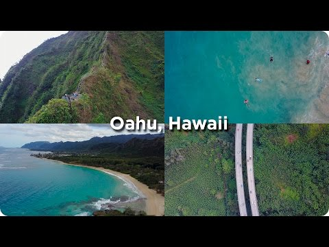 Oahu Hawaii Stairway to Heaven with a Drone!   Evan Edinger Travel