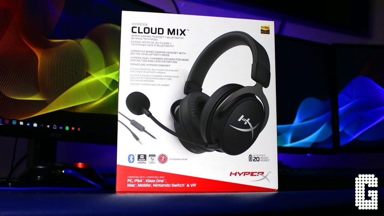 First Look Hyperx Cloud Mix Bluetooth And Wired Headset Review Youtube