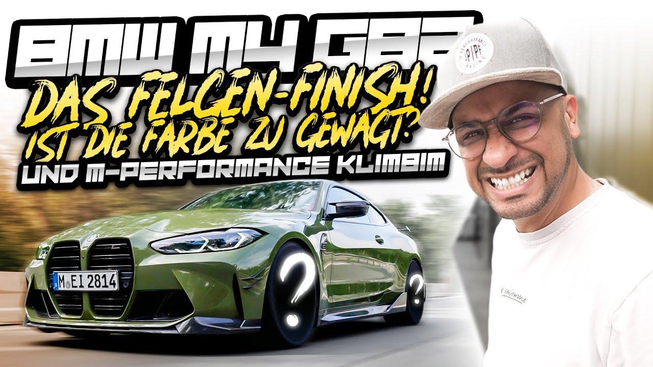 JP Performance - Das Felgen-Finish! Ist die Farbe zu gewagt? | BMW M4 G82
