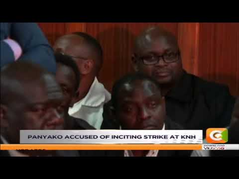 Nurses' union sec. Gen Panyako released on bail