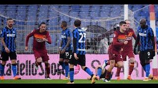 ملخص مباراة روما وإنتر | مانشيني يحرم إنتر من خطف نقاط الفوز أمام روما | روما 2 إنتر ميلان 2