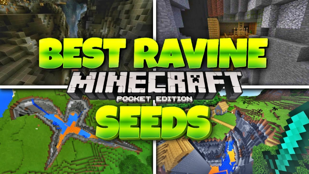 Epic Ravine Seeds For Minecraft 12 Mcpe 12 Best Ravines Seeds Minecraft Pe 12