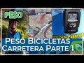 Peso de las bicicletas de carretera de los comunitarios Parte 1
